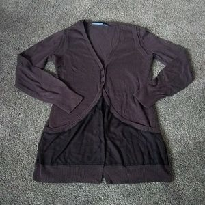 Simply Vera large 3 button cardigan